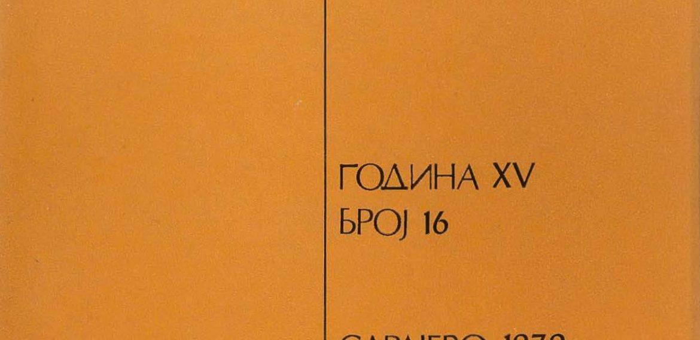 Prilozi br. 16 (1979)