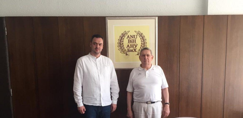 Dr. Sedad Bešlija posjetio predsjednika ANU BiH