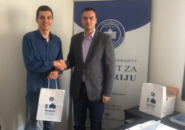"""Predsjednik Udruženja za zaštitu kulturne baštine """"Isa-beg Ishaković"""" u posjeti Institutu za historiju"""