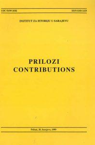 Prilozi br. 28 (1999)