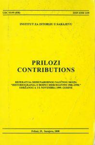 Prilozi br. 29 (2000)