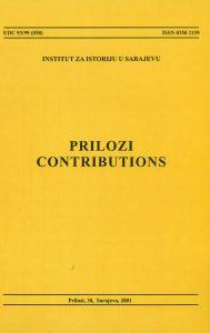 Prilozi br. 30 (2001)