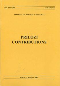 Prilozi br. 31 (2002)