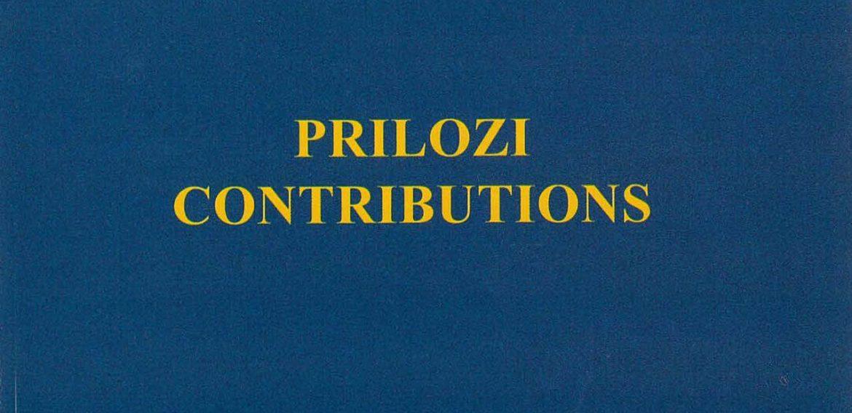 Prilozi br. 32 (2003)