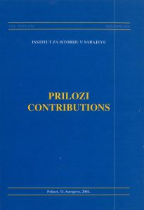 Prilozi br. 33 (2004)