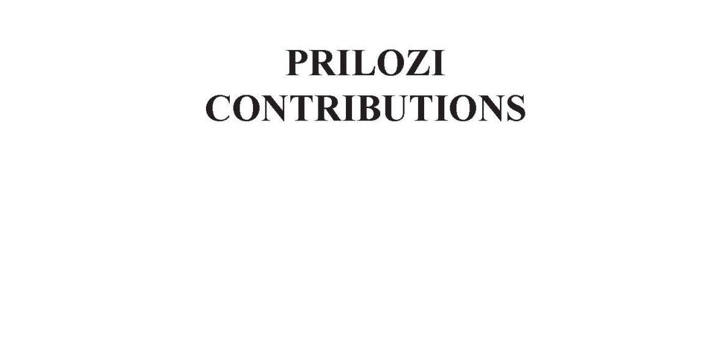 Prilozi br. 47 (2018)