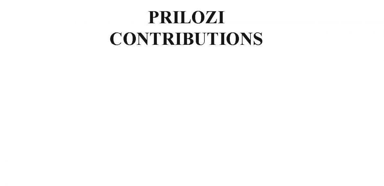 Prilozi br. 36 (2007)