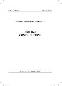 Prilozi br. 38 (2009)