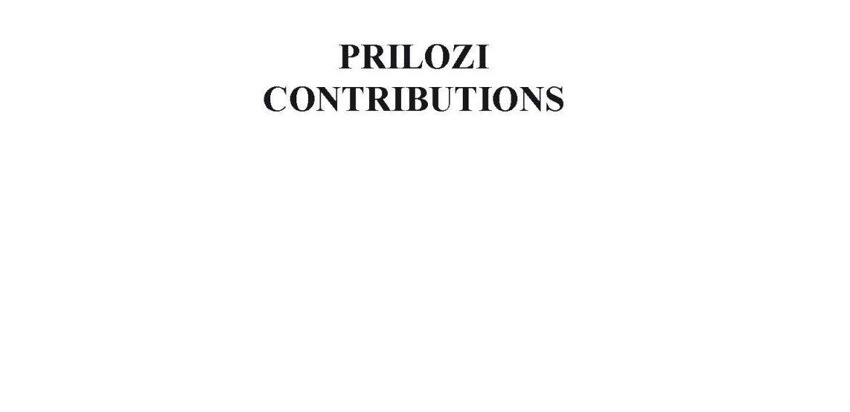 Prilozi br. 39 (2010)