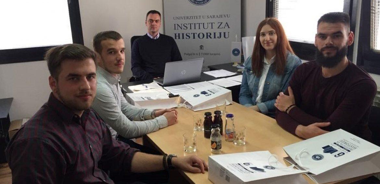 Najbolji studenti historije u posjeti Institutu za historiju