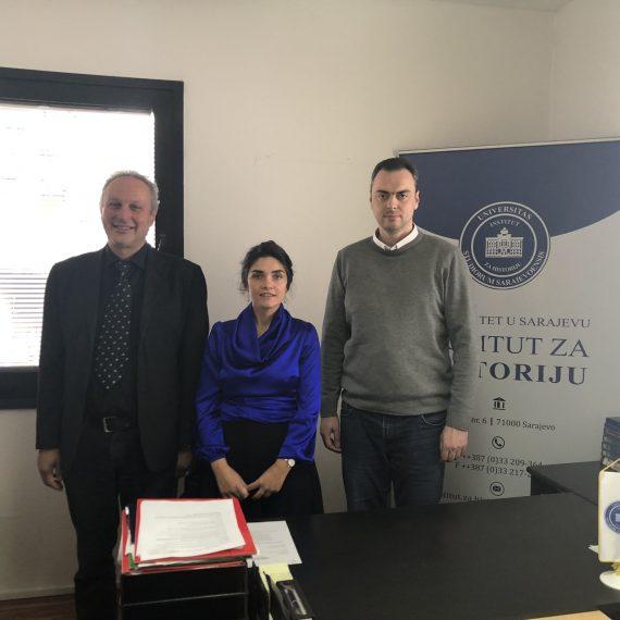Dr. Tunç Aybak iz Londona gost Instituta za historiju
