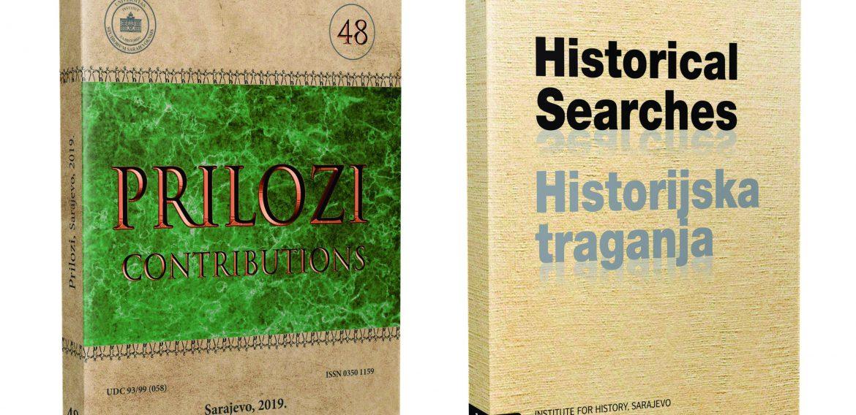 Objavljeni Prilozi br. 48 i Historical searches br. 18