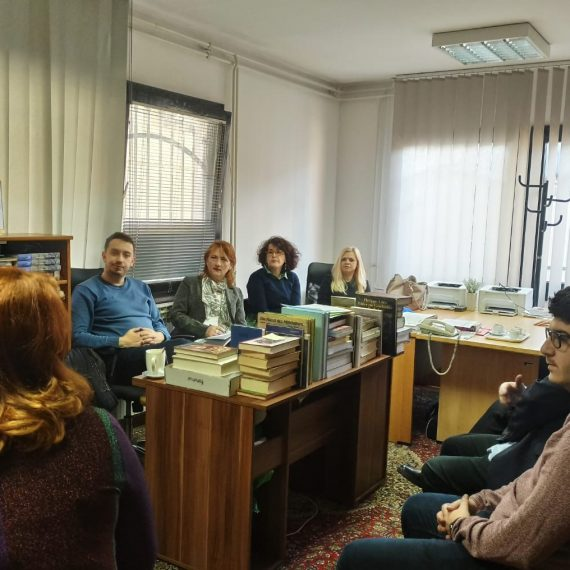 Mr. Božena Miljić u posjeti Institutu za historiju