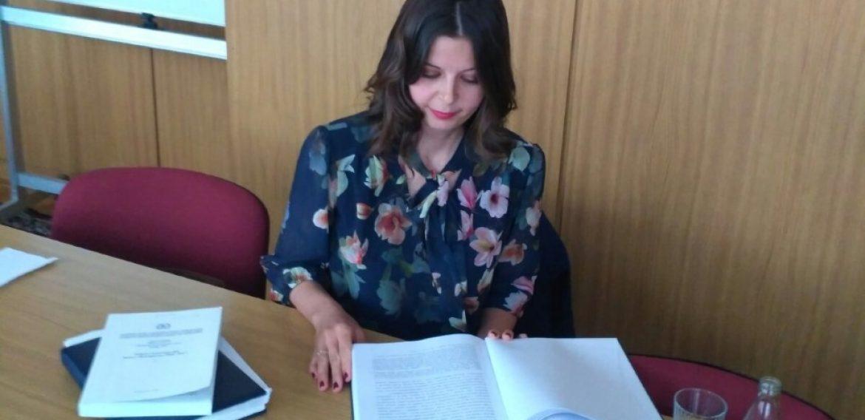 Sanja Gladanac-Petrović odbranila doktorsku disertaciju