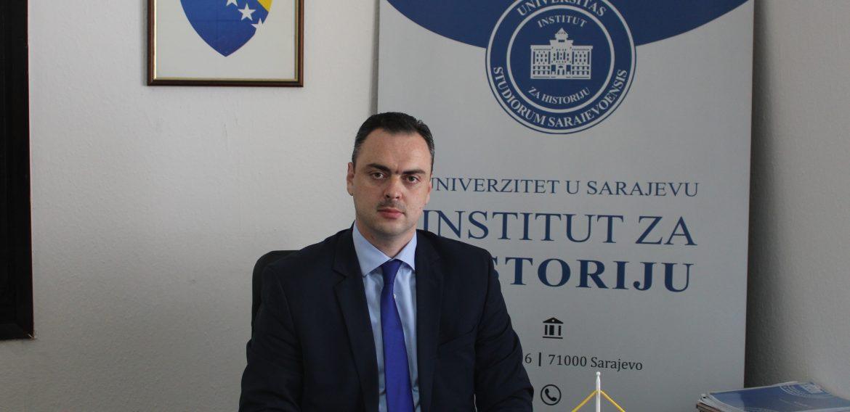 Dr. sc. Sedad Bešlija izabran za direktora Instituta za historiju Univerziteta u Sarajevu za mandatni period 2020-2024. godine