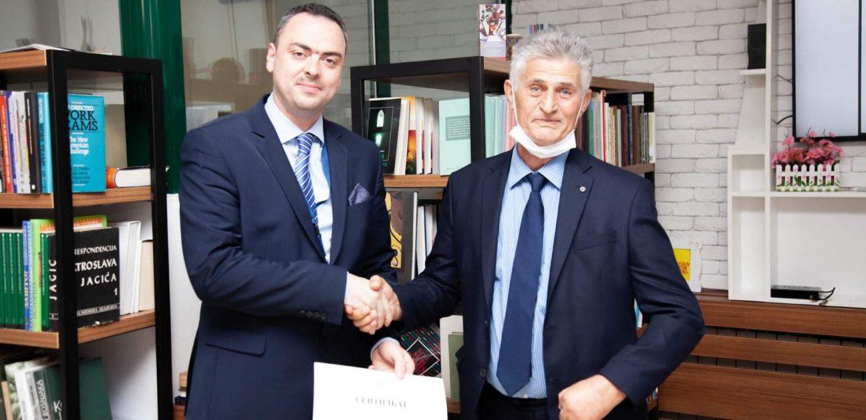 Direktor Instituta za historiju dr. Sedad Bešlija boravio u Crnoj Gori